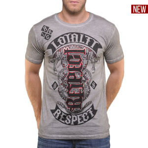 T-shirt red chapter loyalty/respect