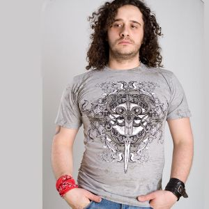 Liberty wear t-shirt uomo man wing