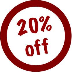 -20% discount