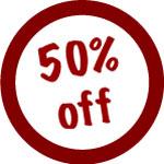 Sconto -50%