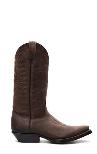 Dark brown Texan style Jalisco boots