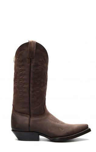 Stivali Jalisco stile Texano testa di moro