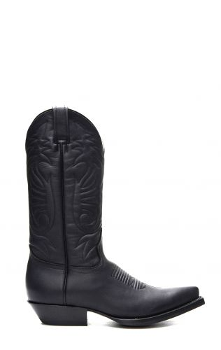 Jalisco Boots For Women, Black Greasy