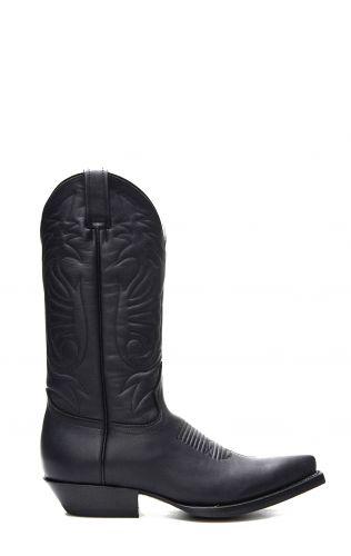 Stivali Jalisco stile Texano nero