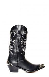 Stivali Texani Tony Mora nero con accessori