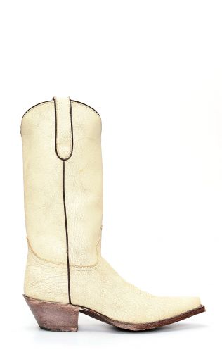 Stivali Jalisco craquelado roto beige