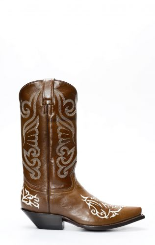 Jalisco boots in brown leather