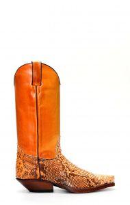 Tony Mora python boots