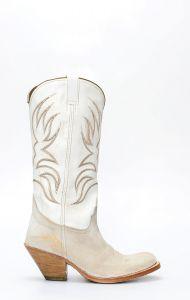 White Sendra boots
