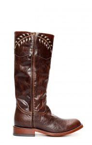 Dark brown Jalisco boots