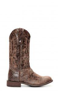 Stivali Jalisco testa di moro