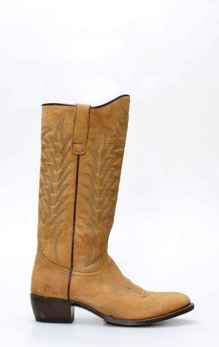 Stivali Sendra donna camperos style perlado marrone