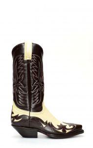 Stivali Texani Jalisco con mascherina a contrasto