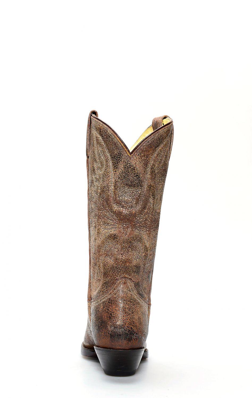 Stivali Jalisco stile texano in pelle invecchiata | 920