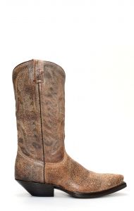 Stivali Jalisco stile Texano in pelle invecchiata