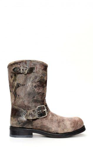 Jalisco Boots, Classic Biker Style, El-Paso Chocolate color
