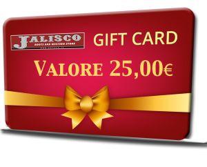 BUONO REGALO 25,00 EURO