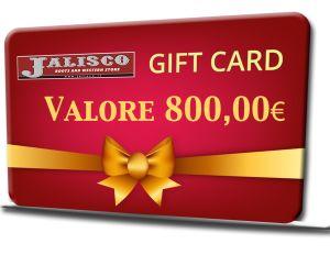 GIFT VOUCHER 800.00 EURO