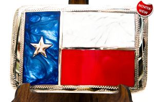 Fibbia J&H Texas flag