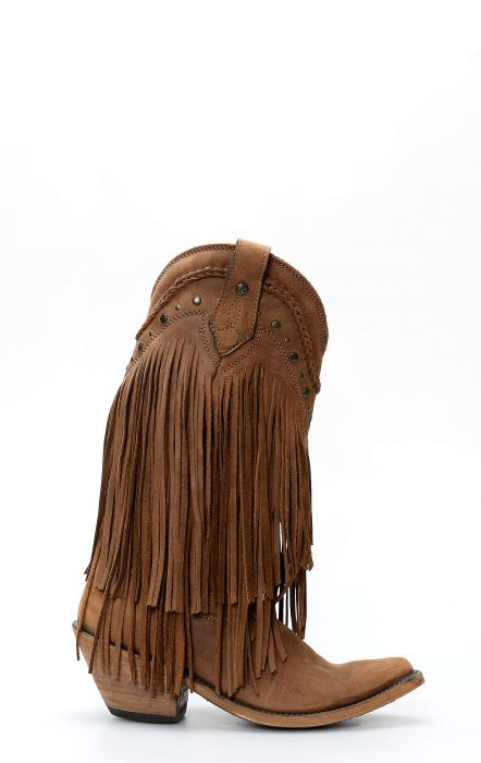 Liberty Black boots with fringe