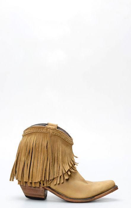 Stivali Liberty Black corti con frange