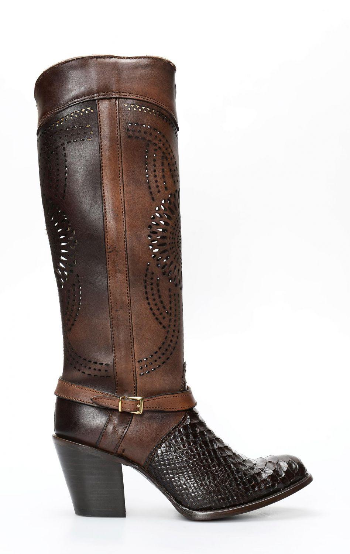 f8e2c02fed2 Women's Cuadra boots in python | 1Z27PH