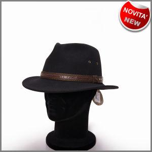 Chapeau noir Outback classique