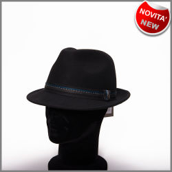 Cappello fedora black