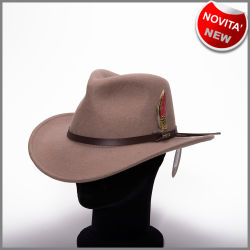 Crushable putty outback hat