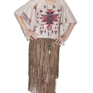 T-shirt coprispalle by scully disegni azteco rosso