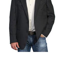Veste western Scully noire avec broderie florale assortie