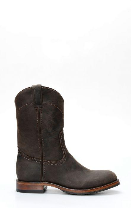 Stivali Caborca testa di moro