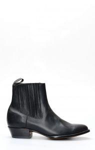 Bottine courte noire Caborca