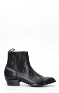 Caborca short black ankle boot