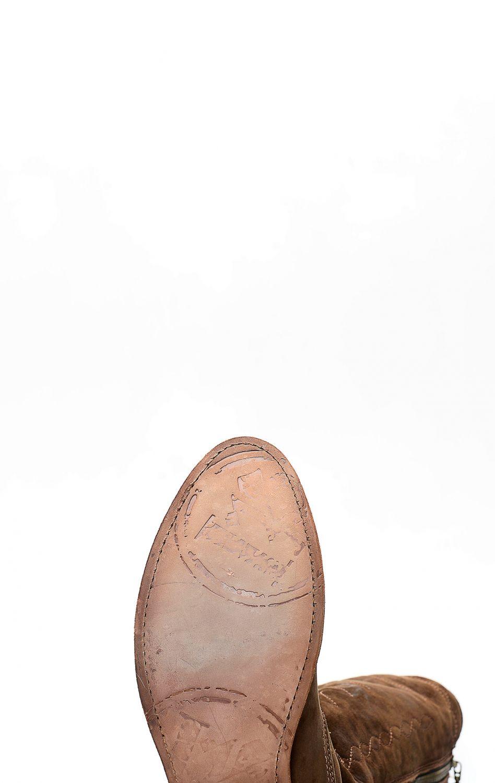 3921f4ed4e11be Stivali Liberty Black in pelle nabuk testa di moro