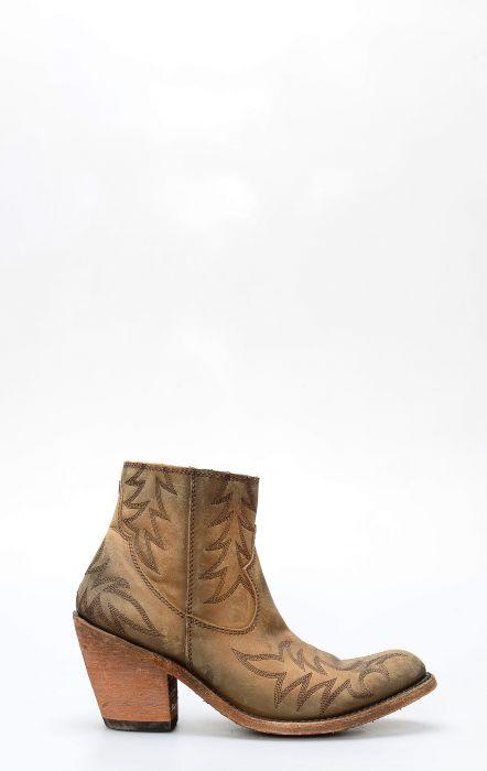 Short american tan boots by Liberty Black
