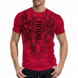 T-shirt red chapter angel/devil