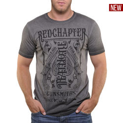 T-shirt red chapter respect all/fear none