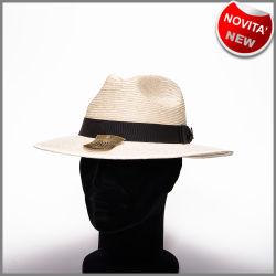 Chapeau cholita RYPRCHBNAT à la palme blanche