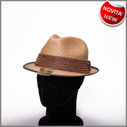Natural palm pachuco hat