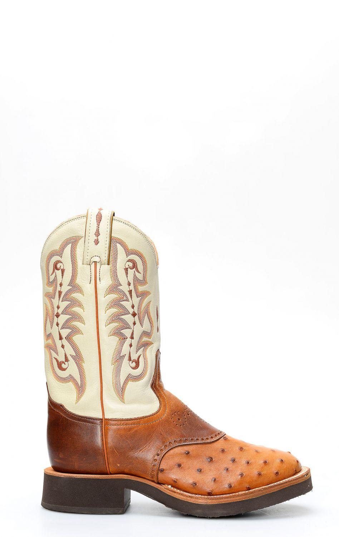 Tony Lama ostrich shoulder boots   8880