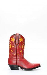 Stivali Caborca rosso