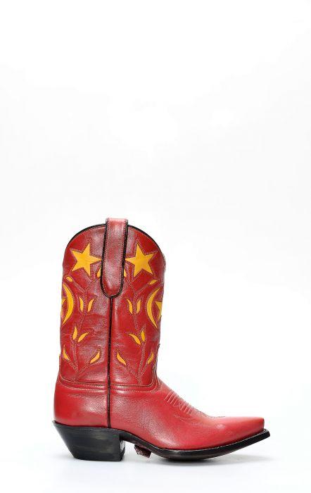 Stivali by Caborca rosso