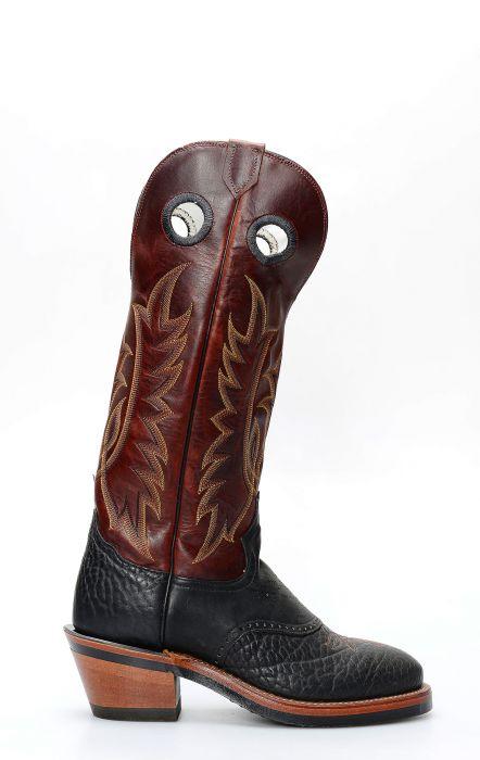 Tony Lama buckaroo style boots
