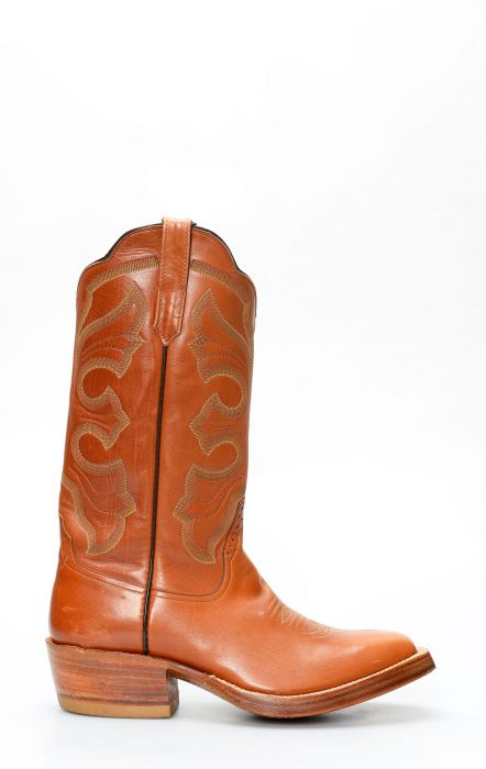 Leather-colored Rios Of Mercedes boots