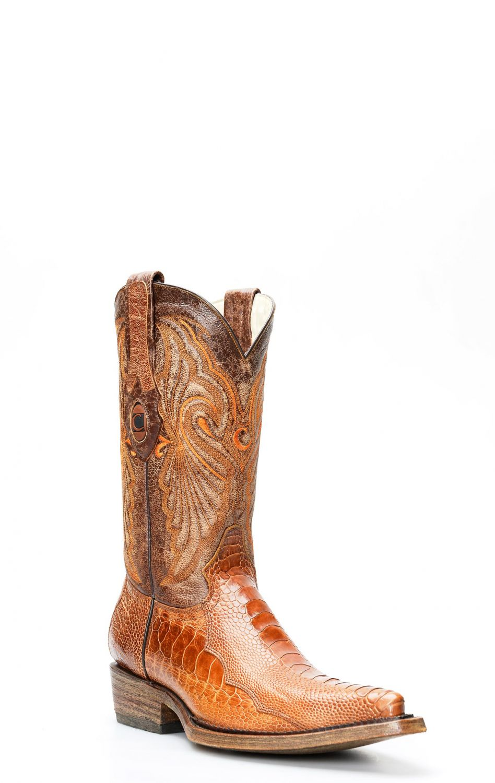 Stivali Cuadra in pelle di gamba di struzzo | Stivali
