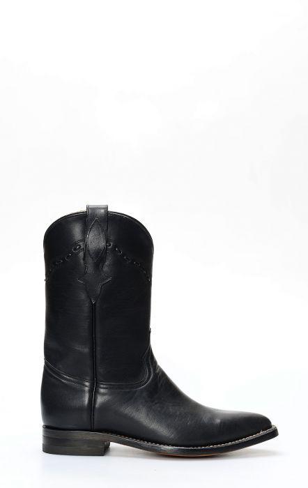 Stivali texano nero