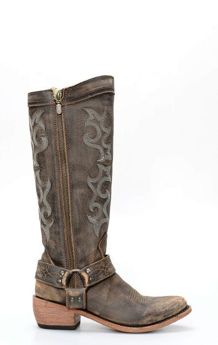 Cowboy Western Stiefel Liberty Black Vintage Canela.