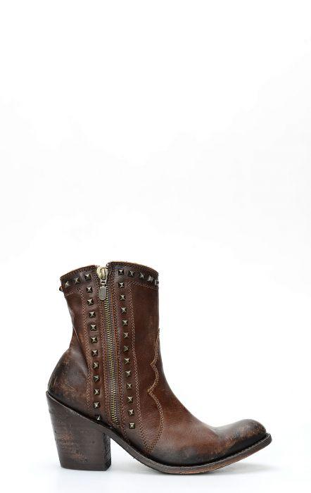 Anke boots cowboy Liberty Black Brown.