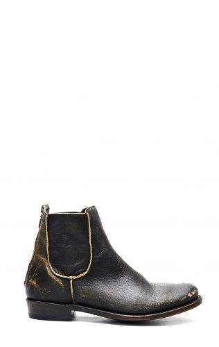 Bootie Liberty Black Black / Beige aged